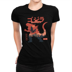 King of the Monsters Vol.2 - Womens Premium - T-Shirts - RIPT Apparel