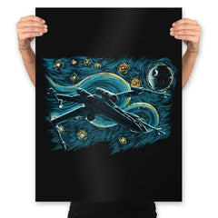 Starry Rebel - Prints - Posters - RIPT Apparel