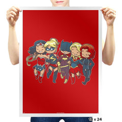 Super BFFs - Miniature Mayhem - Prints - Posters - RIPT Apparel