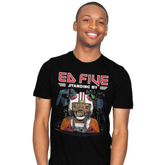 Ed Five Standing By - Mens - T-Shirts - RIPT Apparel