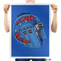 Magic Bluebox - Prints - Posters - RIPT Apparel