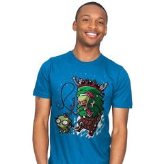 Zim Stole Christmas - Mens - T-Shirts - RIPT Apparel