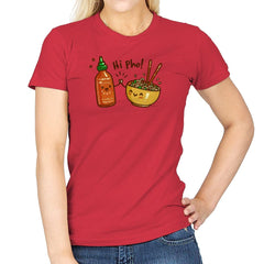 Hi Pho - Womens - T-Shirts - RIPT Apparel