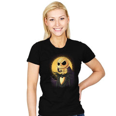 Halloween Portrait - Pop Impressionism - Womens - T-Shirts - RIPT Apparel