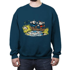 Cup and Mug - Crew Neck Sweatshirt - Crew Neck Sweatshirt - RIPT Apparel