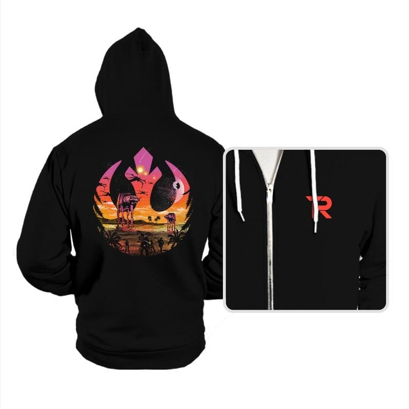 Rebellion Sunset - Hoodies - Hoodies - RIPT Apparel