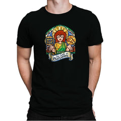 Our Lady of Sarcasm Exclusive - Mens Premium - T-Shirts - RIPT Apparel