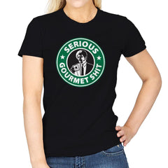 Serious Gourmet Coffee - Best Seller - Womens - T-Shirts - RIPT Apparel