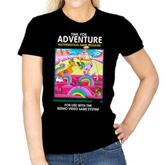 Time for Adventure - Womens - T-Shirts - RIPT Apparel