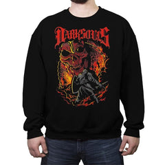 Dark Metal Souls - Crew Neck Sweatshirt - Crew Neck Sweatshirt - RIPT Apparel
