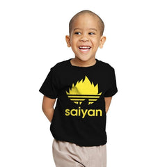 Saiyan - Youth - T-Shirts - RIPT Apparel