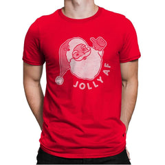 Jolly AF - Mens Premium - T-Shirts - RIPT Apparel