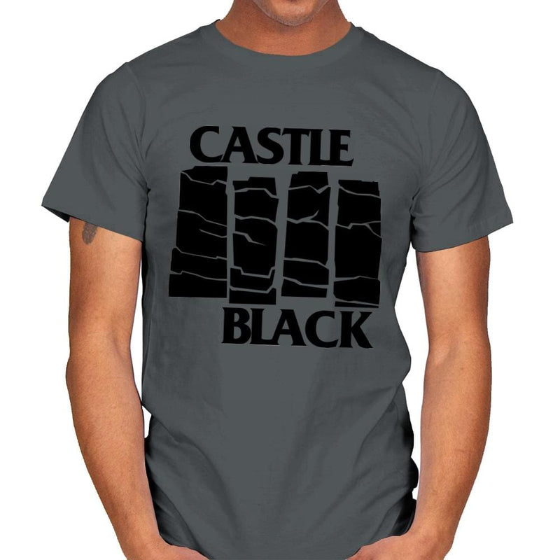 Castle Black Flag - Mens - T-Shirts - RIPT Apparel