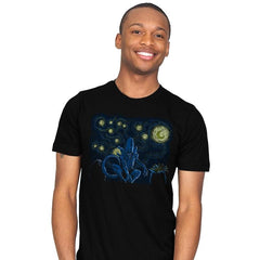 Starry Xenomorph - Mens - T-Shirts - RIPT Apparel