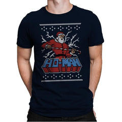 Ho-Man! - Ugly Holiday - Mens Premium - T-Shirts - RIPT Apparel