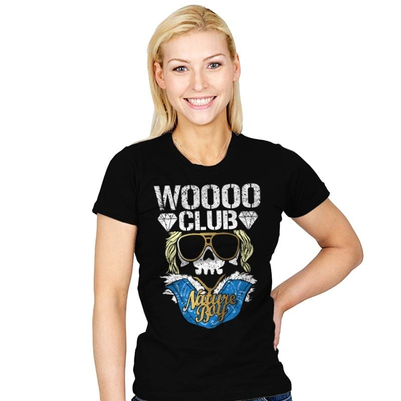 WOO CLUB - Womens - T-Shirts - RIPT Apparel
