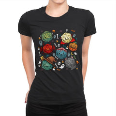 Halloween Dice - Womens Premium - T-Shirts - RIPT Apparel