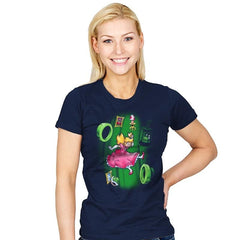 Down the Warp Hole - Womens - T-Shirts - RIPT Apparel