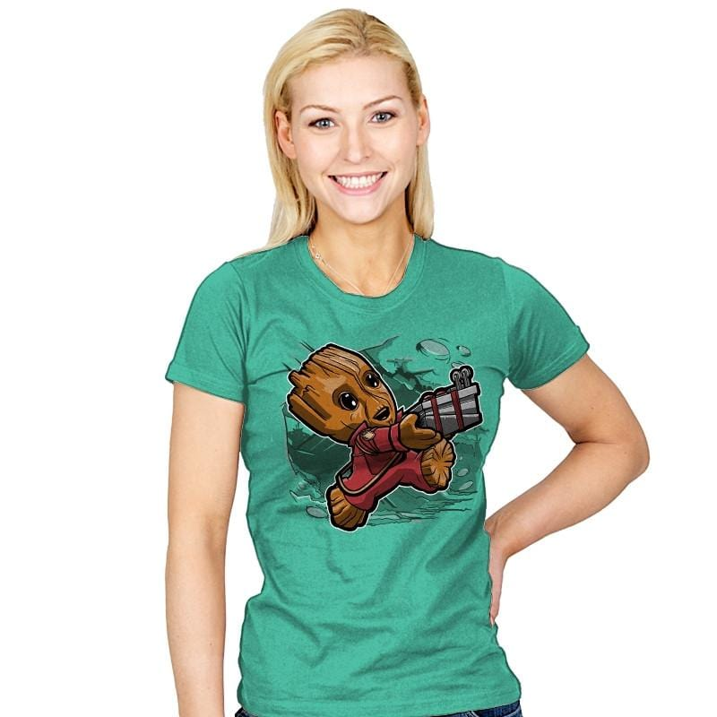 Super Tiny Guardian - Womens - T-Shirts - RIPT Apparel