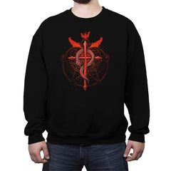 Student of Alchemy - Crew Neck Sweatshirt - Crew Neck Sweatshirt - RIPT Apparel