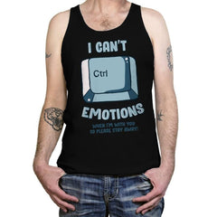 Can't Control Emotions - Tanktop - Tanktop - RIPT Apparel