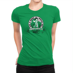 Cooper's Coffee Co. Exclusive - Womens Premium - T-Shirts - RIPT Apparel