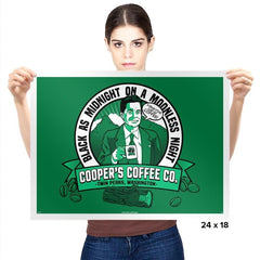 Cooper's Coffee Co. Exclusive - Prints - Posters - RIPT Apparel