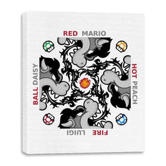 Red Hot Fire Ball - Canvas Wraps - Canvas Wraps - RIPT Apparel