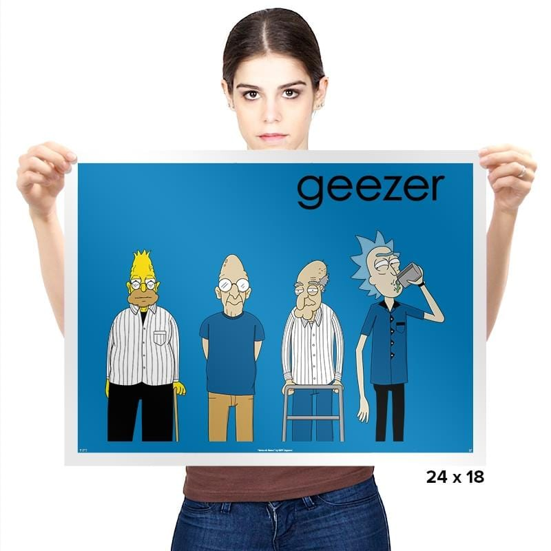 Geezer Exclusive - Prints - Posters - RIPT Apparel