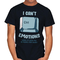 Can't Control Emotions - Mens - T-Shirts - RIPT Apparel