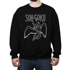 SON-GOKU - Crew Neck Sweatshirt - Crew Neck Sweatshirt - RIPT Apparel