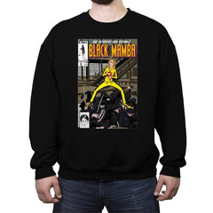 Black Mamba - Crew Neck Sweatshirt - Crew Neck Sweatshirt - RIPT Apparel