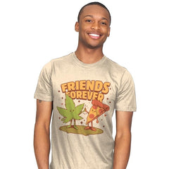 Cute Friends - Mens - T-Shirts - RIPT Apparel