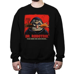 Mr Robotnik - Crew Neck Sweatshirt - Crew Neck Sweatshirt - RIPT Apparel