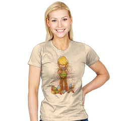 After the Adventure - Art Attack - Womens - T-Shirts - RIPT Apparel