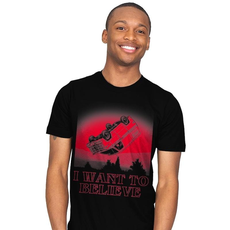 I Want To Believe Strange Things - Mens - T-Shirts - RIPT Apparel
