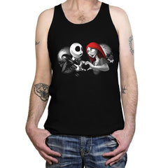 Her Skeleton, His Doll - Tanktop - Tanktop - RIPT Apparel