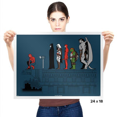 Hero Pose - Prints - Posters - RIPT Apparel