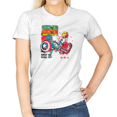 Rock 'em Sock 'em Rivals Exclusive - Womens - T-Shirts - RIPT Apparel
