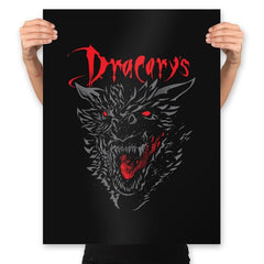 Count Dracarys - Prints - Posters - RIPT Apparel
