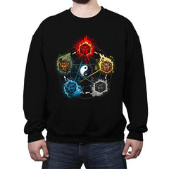 Dice Elements - Crew Neck Sweatshirt - Crew Neck Sweatshirt - RIPT Apparel