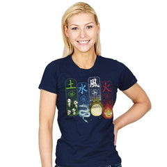 Elemental Charms - Womens - T-Shirts - RIPT Apparel
