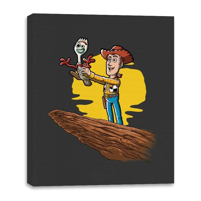The Not a Toy King - Canvas Wraps - Canvas Wraps - RIPT Apparel