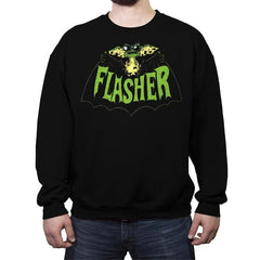 Flasher - Crew Neck Sweatshirt - Crew Neck Sweatshirt - RIPT Apparel