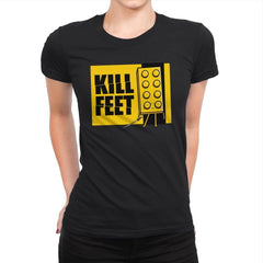 Kill Feet - Womens Premium - T-Shirts - RIPT Apparel