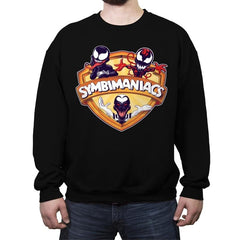 Symbimaniacs - Crew Neck Sweatshirt - Crew Neck Sweatshirt - RIPT Apparel