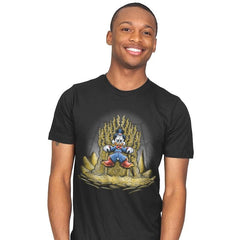 Gold Throne - Mens - T-Shirts - RIPT Apparel