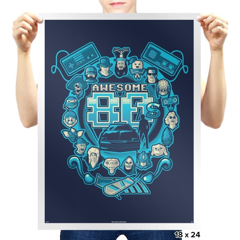 Awesome 80s Reprint - Prints - Posters - RIPT Apparel