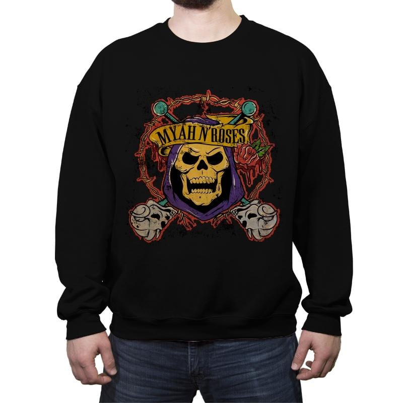 Appetite for Grayskull - Crew Neck Sweatshirt - Crew Neck Sweatshirt - RIPT Apparel