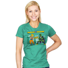 Dragon Fighter Exclusive - Womens - T-Shirts - RIPT Apparel